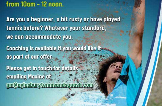 Club Mornings for Tennis